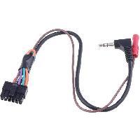 Commande au volant JVC CAVMLT1 Cable lead universel compatible avec autoradio et interface commande au volant