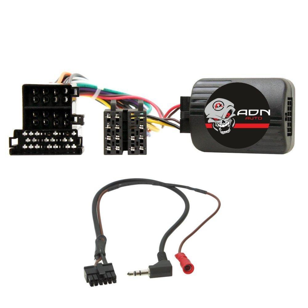 = haut-parleur adaptateur câble raccordement connecteur pour peugeot 306