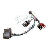 Commande au volant Kenwood Interface Commande au volant AD8K compatible avec Audi ap01 ISO Ampli bose Kenwood