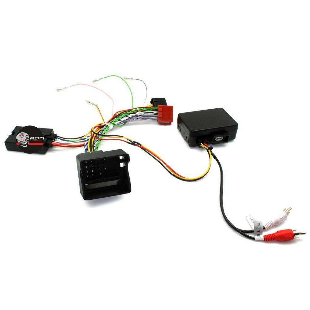 Interface Commande au volant RN4P pour Renault 00-07 ISO sans ecran Pioneer Sony ADNAuto