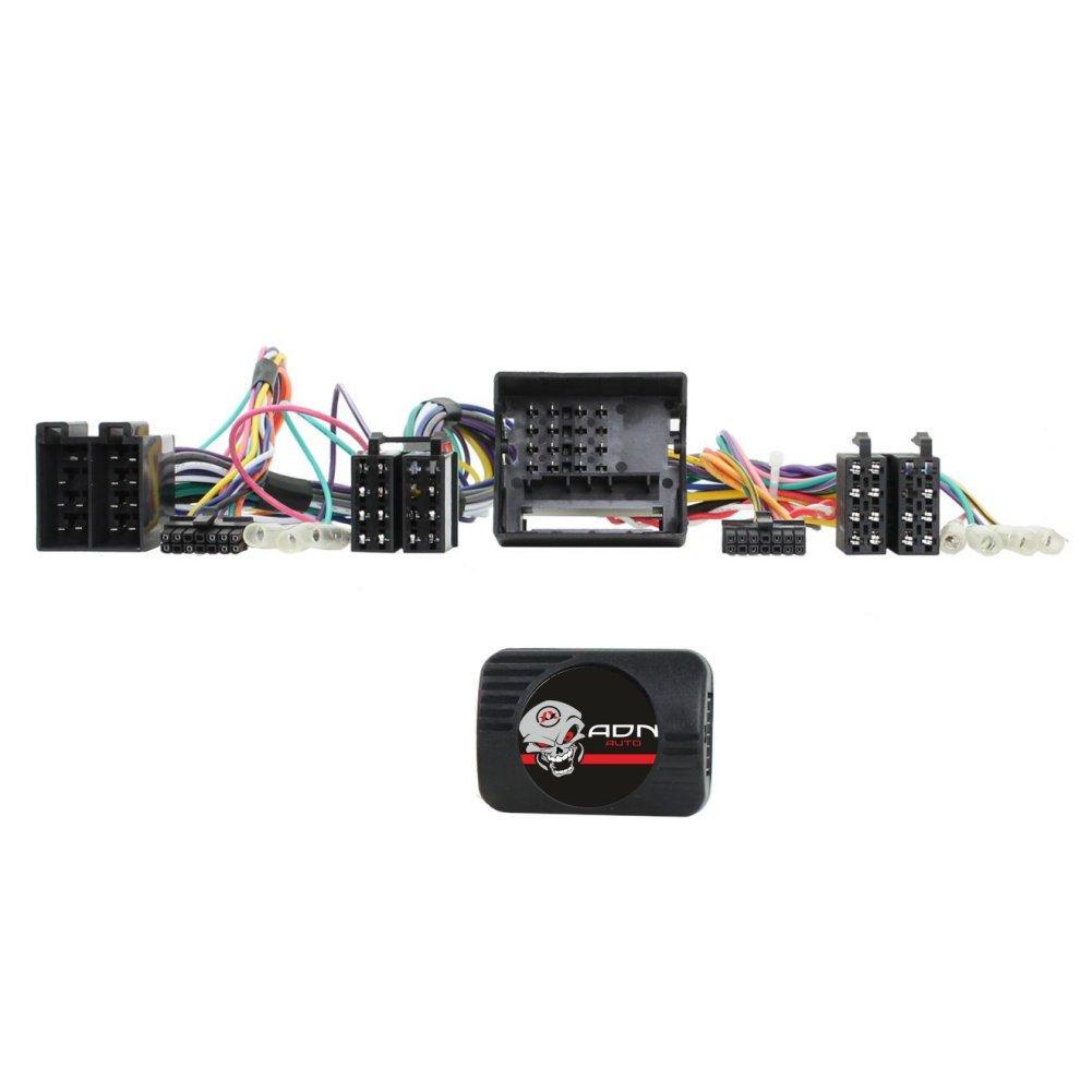 Interface Commande au volant MC2P pour Mercedes VW Smart ap04 ISO Pioneer Sony ADNAuto
