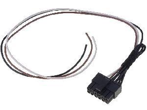 Commande au volant Sans Lead Cable lead compatible avec autoradio chinois 3 fils et interface commande au volant