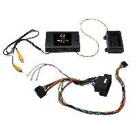 Commande au volant Sans Lead Infodapter Commande au volant UFT02 compatible avec Fiat 500X