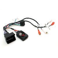 Commande au volant Sans Lead Interface Commande au volant AD2 compatible avec Audi Avec Ampli Centrale seule
