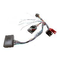 Commande au volant Sans Lead Interface Commande au volant AD8 compatible avec Audi ap01 ISO Ampli bose Centrale seule
