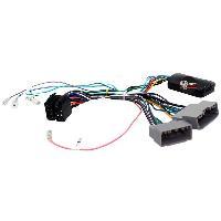 Commande au volant Sans Lead Interface Commande au volant ADNAuto CHC compatible avec Chrysler Dodge Jeep - Centrale seule