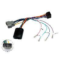 Commande au volant Sans Lead Interface Commande au volant CH2 compatible avec Chrysler ap04 Anc.connect. Centrale seule