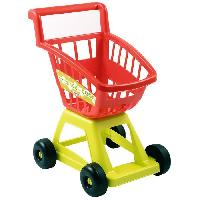 Commercant - Marchande Chariot supermarche vide