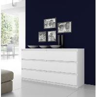 Commode De Chambre Commode NATTI 154cm blanc