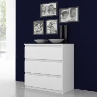 Commode De Chambre Commode NATTI 78cm blanc