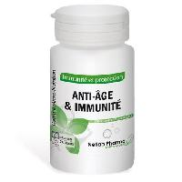 Complement Anti-age Anti-age et immunite NETLAB PHARMA - Pilulier 60 gelules - Complement alimentaire defenses naturelles - Concu et produit en France