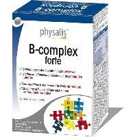 Complement Articulations - Complement Rhumatisme - Complement Ossature Physalis complément alimentaire B-complex forte 60 comprimés - Aucune