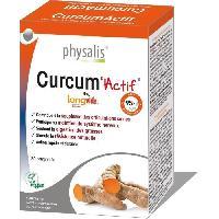 Complement Articulations - Complement Rhumatisme - Complement Ossature Physalis complément alimentaire Curcum'Actif 30 comprimés - Aucune