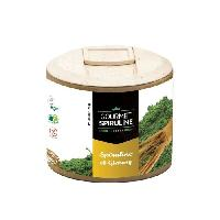 Complement Defense Immunitaire - Complement Renforcement De L'organisme GOURMET SPIRULINE Poudre Spiruline-Ginseng Bio - 90 g