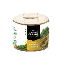 Complement Defense Immunitaire - Complement Renforcement De L'organisme GOURMET SPIRULINE Poudre Spiruline-Ginseng Bio pot - 90 g