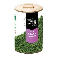 Complement Defense Immunitaire - Complement Renforcement De L'organisme GOURMET SPIRULINE Poudre Spiruline Bio - 130 g - Gourmet Spirulina