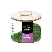 Complement Defense Immunitaire - Complement Renforcement De L'organisme GOURMET SPIRULINE Poudre Spiruline Bio pot - 90 g - Gourmet Spirulina
