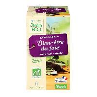Complement Digestion - Complement Transit JARDIN BIO 40 gélules végétales bien-etre du foie - Bio - 17 g