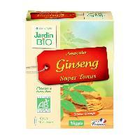 Complement Digestion - Complement Transit JARDIN BIO Ampoule ginseng super tonus - Bio - 100 g - Saveur orange