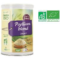 Complement Digestion - Complement Transit JARDIN BIO Super aliment Psyllium blond - Bio - 100 g