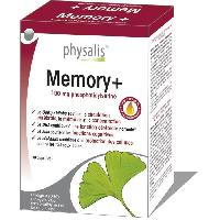 Complement Digestion - Complement Transit Physalis complement alimentaire Memory+ 30 capsules molles - Aucune