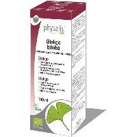 Complement Digestion - Complement Transit Physalis gouttes de plantes Ginkgo biloba 100 ml Bio - Aucune