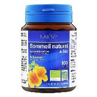 Complement Stress - Complement Anxiete - Complement Sommeil NATESIS Complément alimentaire Sommeil Naturel & Bio - Complexe de 5 plantes - 100 gélules