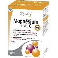 Complement Stress - Complement Anxiete - Complement Sommeil Physalis complément alimentaire Magnésium + vit. C 30 comprimés - Aucune