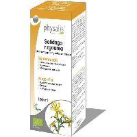 Complement Stress - Complement Anxiete - Complement Sommeil Physalis gouttes de plantes Solidago virgaurea 100 ml Bio - Aucune