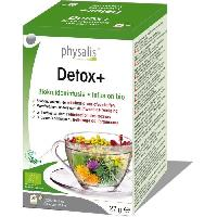 Complement Stress - Complement Anxiete - Complement Sommeil Physalis infusion Detox+ 20 infusettes Bio - Aucune
