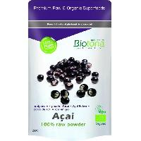 Complements Alimentaires - The Infusion Sante Biotona Superfood Açai raw powder 200 g Bio - Aucune