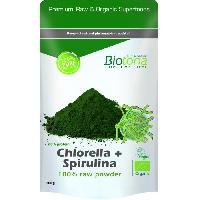 Complements Alimentaires - The Infusion Sante Biotona Superfood Chlorella + Spirulina raw powder 200 g Bio Aucune