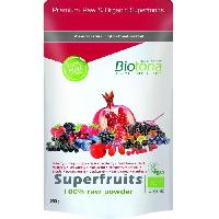 Complements Alimentaires - The Infusion Sante Biotona Superfood Superfruits raw powder 200 g Bio Aucune