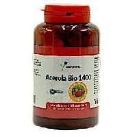 Complements Alimentaires - The Infusion Sante COMPLEM - Acerola Bio 1400 - Fort apport en vitamine C- Recommandé pour réduire la fatigue et pour le bon fonctionnement - Aucune