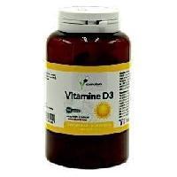 Complements Alimentaires - The Infusion Sante COMPLEM - VITAMINE D3 - Participe au maintien de la bonne santé osseuse et dentaire et bon fonctionnement du systeme im - Aucune