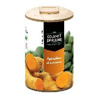 Complements Alimentaires - The Infusion Sante GOURMET SPIRULINE Comprimes Spiruline-Ginseng Bio - 500 g