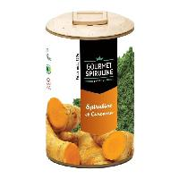 Complements Alimentaires - The Infusion Sante GOURMET SPIRULINE Poudre Spiruline-Ginseng Bio - 130 g
