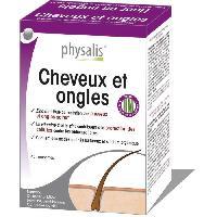 Complements Alimentaires - The Infusion Sante Physalis complément alimentaire Cheveux et ongles 45 comprimés - Aucune