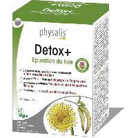 Complements Alimentaires - The Infusion Sante Physalis complément alimentaire Detox+ 30 comprimés - Aucune