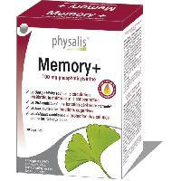 Complements Alimentaires - The Infusion Sante Physalis complément alimentaire Memory+ 30 capsules molles Aucune