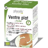 Complements Alimentaires - The Infusion Sante Physalis complément alimentaire Ventre plat 45 comprimés Bio Aucune