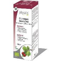 Complements Alimentaires - The Infusion Sante Physalis gouttes de plantes Crataegus monogyna 100 ml Bio - Aucune