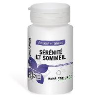 Complements Alimentaires - The Infusion Sante Serenite et sommeil NETLAB PHARMA - Pilulier 60 gelules - Complement alimentaire sommeil - Concu et produit en France