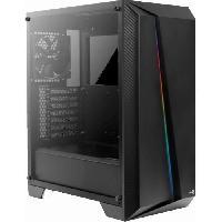 Composant - Piece Detachee AEROCOOL BOITIER PC Cylon PRO - RGB - Noir - Verre trempé - Format ATX (ACCM-PB10013.11)