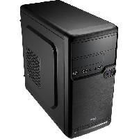 Composant - Piece Detachee AEROCOOL BOITIER PC QS-182 - Mini Tour - Noir - Format Micro ATX -ACCS-PQ02014.11-