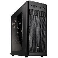Composant - Piece Detachee AEROCOOL BOITIER PC SI-5100 - Moyen Tour - Noir - Verre trempe - Format ATX -ACCM-SI01011.11-