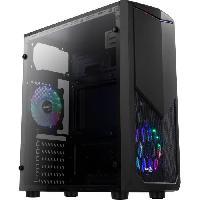 Composant - Piece Detachee AEROCOOL BOITIER PC Tomahawk A - RGB - Moyen Tour - Noir - Format ATX -ACCM-PV17122.11-