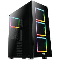 Composant - Piece Detachee AEROCOOL BOITIER PC Tor Pro - RGB - Noir - Verre trempe - Format E-ATX -ACCF-PB11043.11-