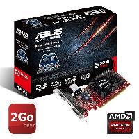 Composant - Piece Detachee ASUS Carte Graphique NVIDIA GeForce R7240 - 2Go - DDR3