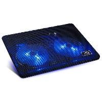 Composant - Piece Detachee Advance Refroidisseur PC AirStream 15 - 2 ventilateurs LED - Noir